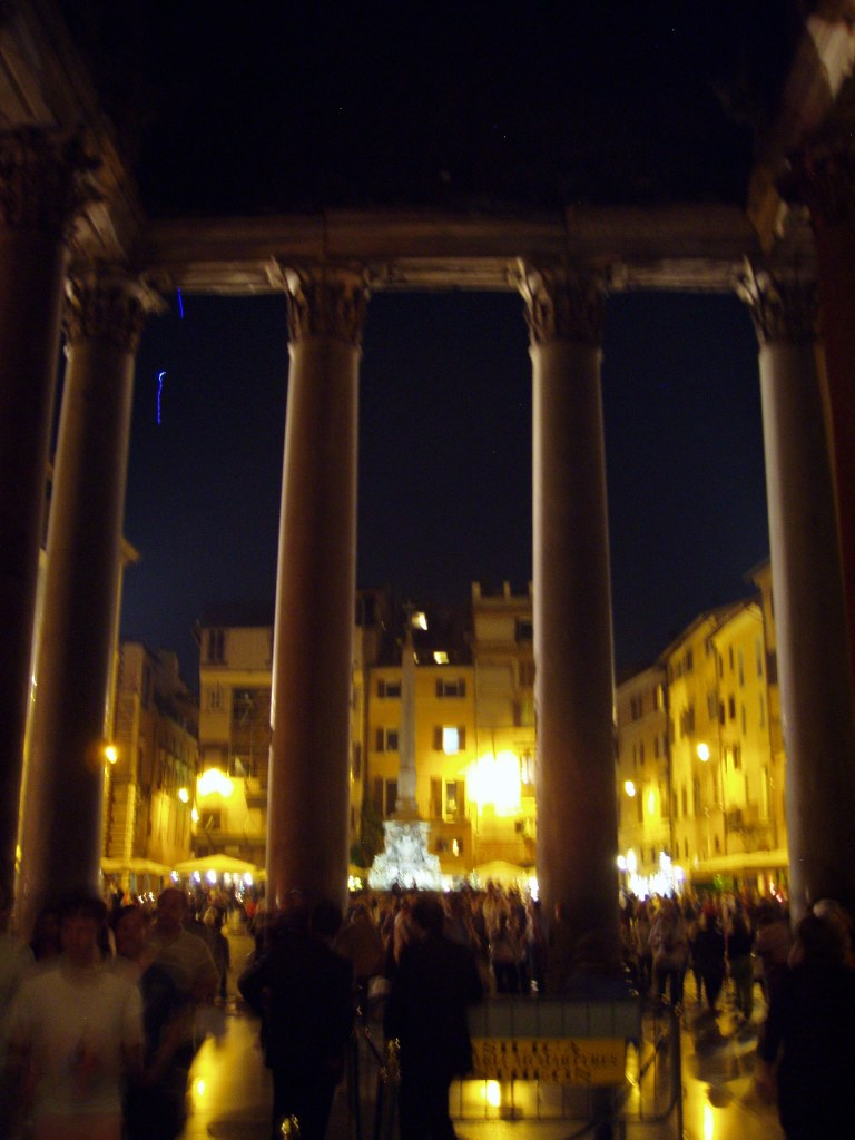 Leaving the Pantheon